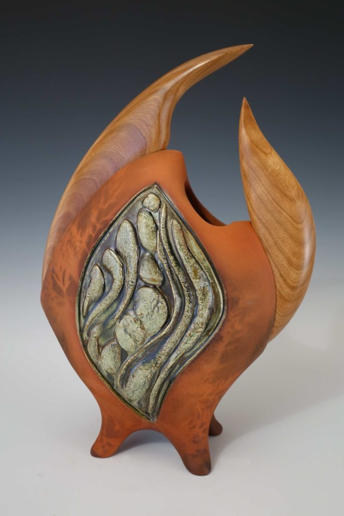 Vessels With Sculpted Wood Jan Jacque
